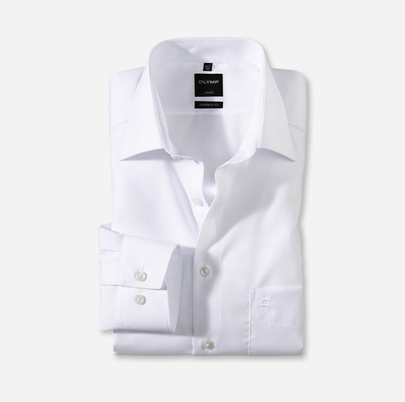 """Oberhemd """"Luxor"""", 1/1 Arm, modern fit, extra langer Arm, weiß"""