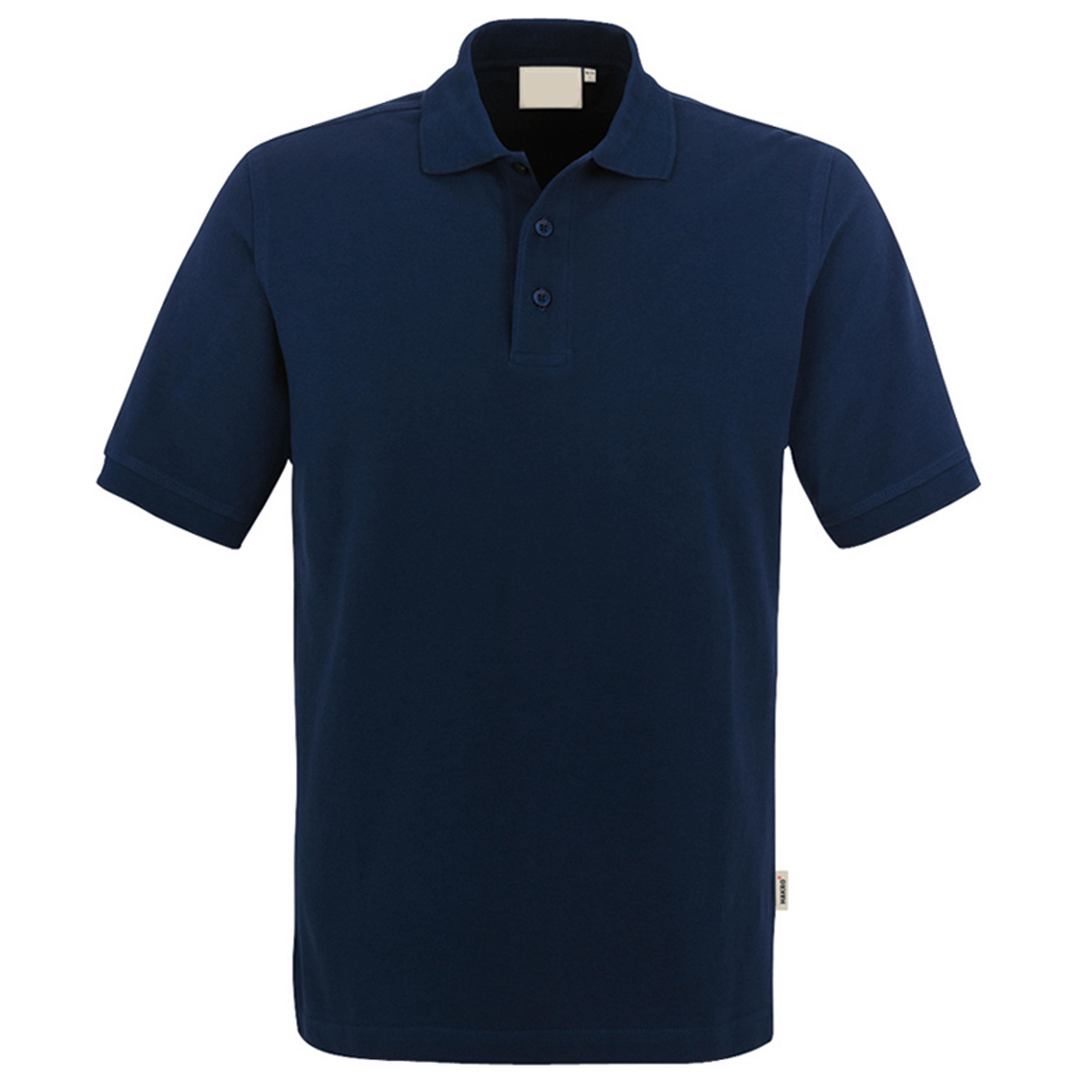 Polo-Piqué-Hemd, tinte, Einstickung >EH< weiß