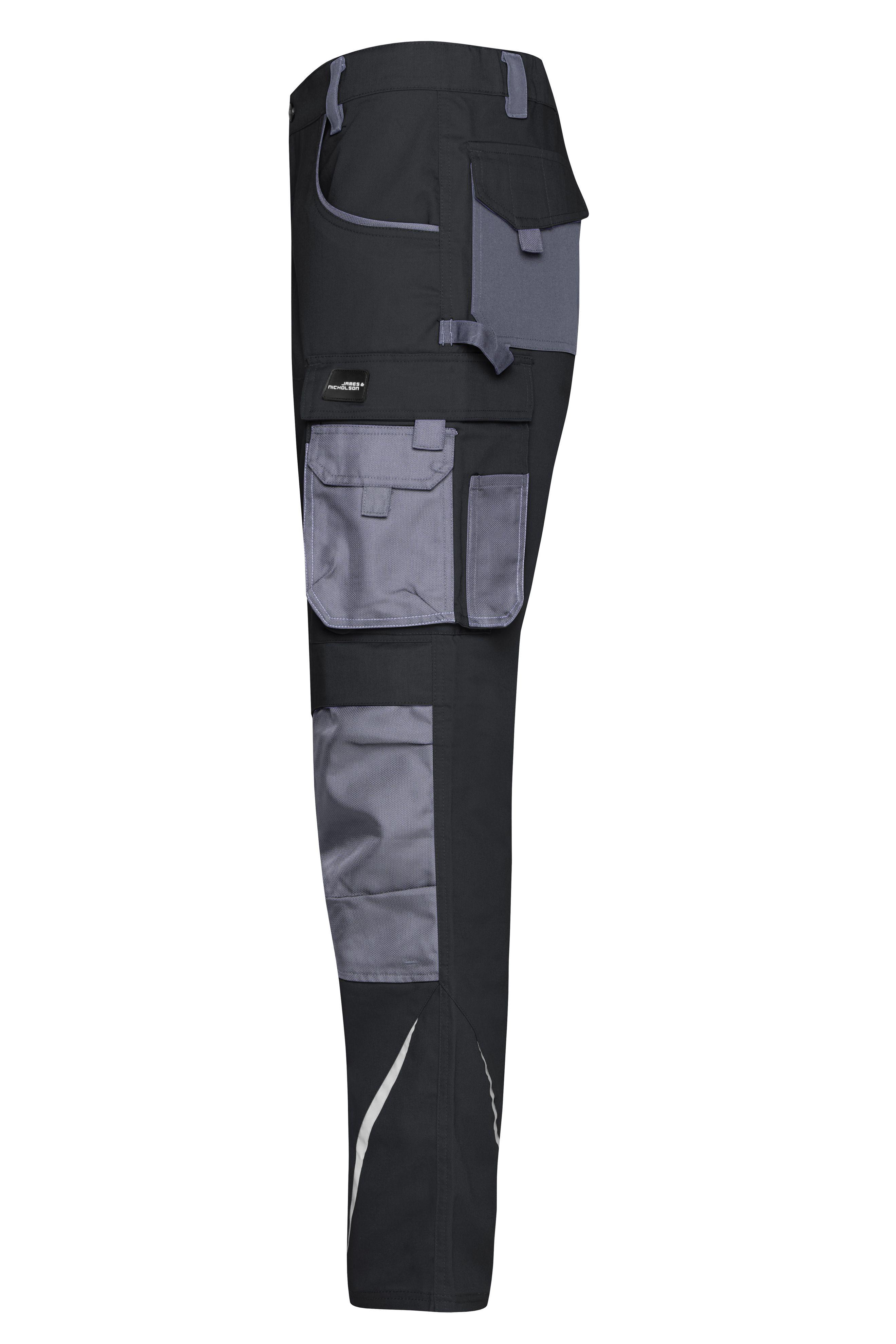 Bundhose STRONG Kniepolstertaschen Polyamid, Reflexelemente (keine PSA)