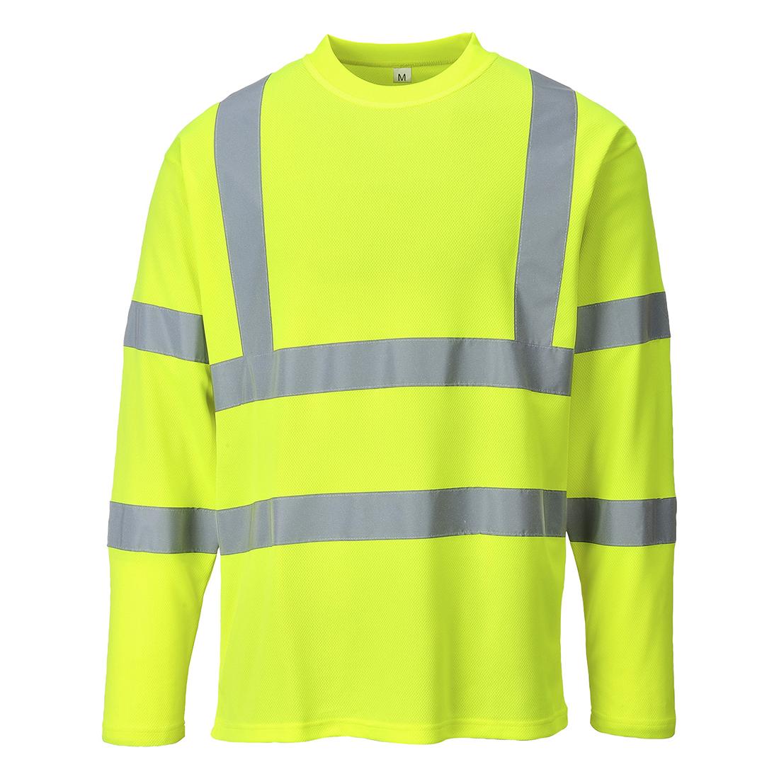 Warnschutz-T-Shirt 1/1 Arm, fluorgelb