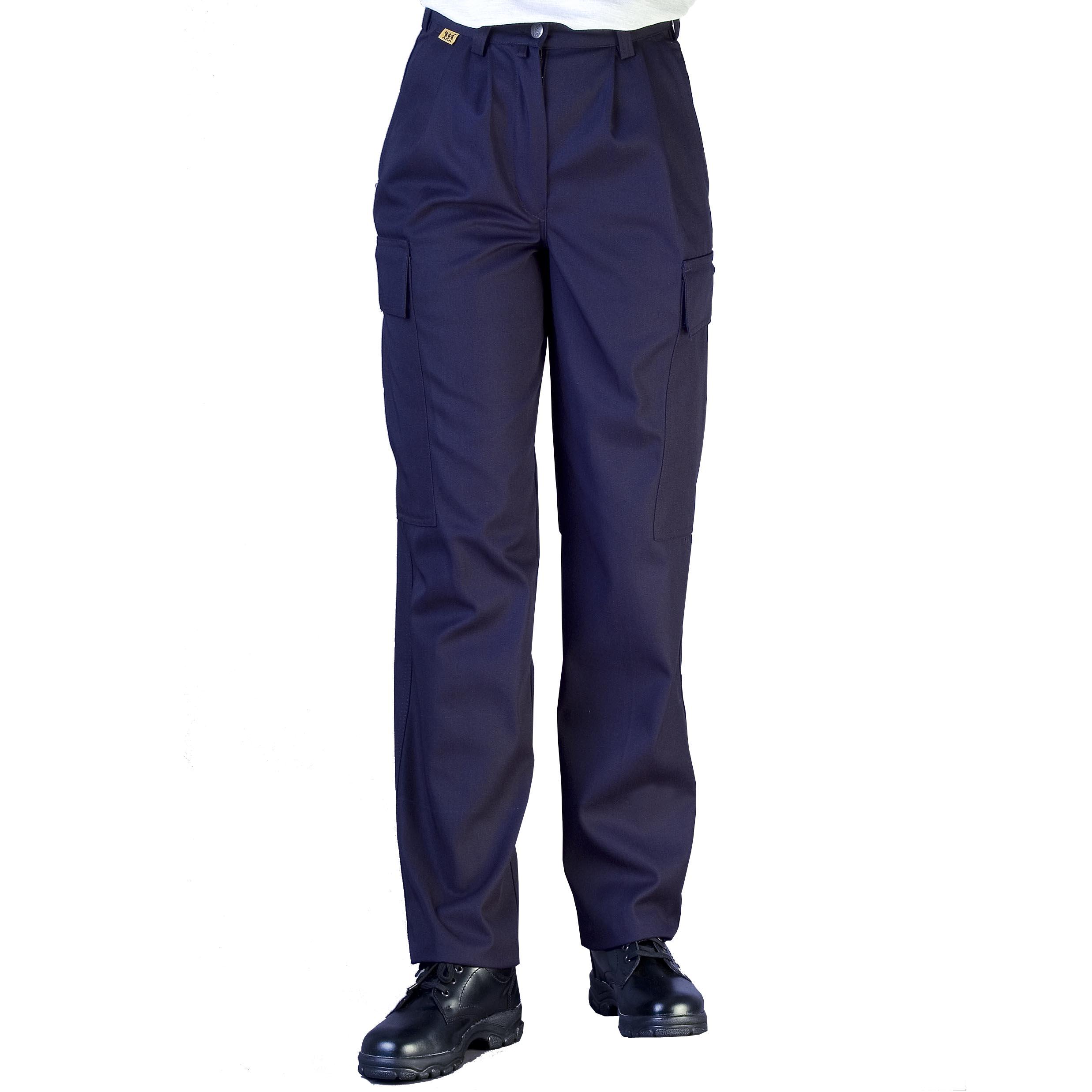 Damen-Bundhose AERO, Schenkeltaschen