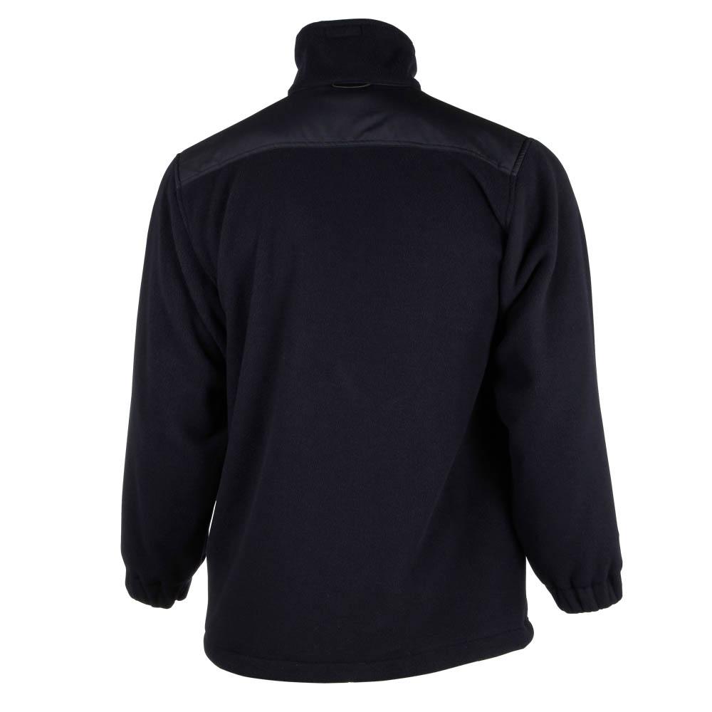 Fleece-Jacke zum Einzippen marine 100% Pes