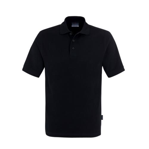Polo-Piqué-Shirt, schwarz E+H